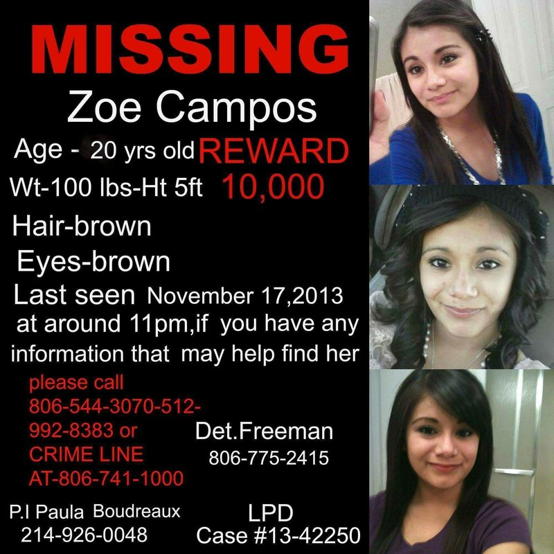What happened to Zoe Campos?